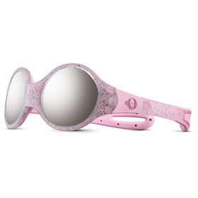 Julbo Loop M Spectron 4 Zonnebril Kinderen, rosa/grey flash silver